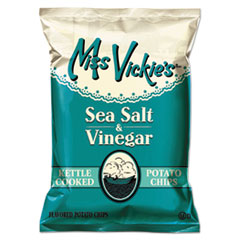 LAY44446 - Frito-Lay Miss Vickies® Kettle Cooked Sea Salt Vinegar Potato Chips