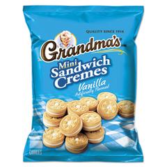 LAY45095 - Grandma's® Mini Vanilla Crme Sandwich Cookies
