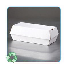 LBP5300 - Paperboard Clamshell Food Containers