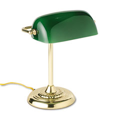 LEDL557BR - Ledu Traditional Banker's Lamp