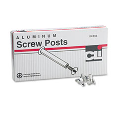 LEO3703L - Charles Leonard® Aluminum Screw Posts