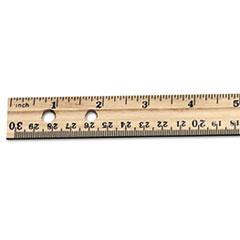 LEO77120 - Charles Leonard® Cli Economical Wood Rulers