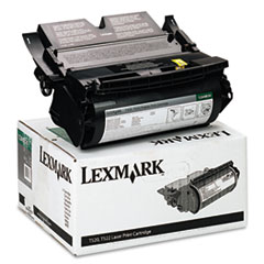 LEX12A6830 - Lexmark 12A6830 Toner, 7500 Page-Yield, Black