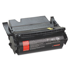 LEX12A7365 - Lexmark 12A7365 Extra High-Yield Toner, 32000 Page-Yield, Black