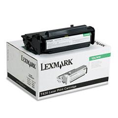 LEX12A7410 - Lexmark 12A7410 Toner, 5000 Page-Yield, Black