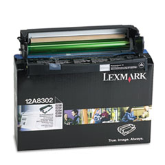 LEX12A8302 - Lexmark 12A8302 Photoconductor Kit, Black