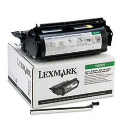 LEX1382925 - Lexmark 1382925 High-Yield Toner, 17600 Page-Yield, Black