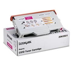 LEX20K0501 - Lexmark 20K0501 Toner, 3000 Page-Yield, Magenta