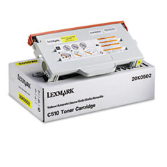 LEX20K0502 - Lexmark 20K0502 Toner, 3000 Page-Yield, Yellow