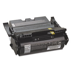 LEX64015HA - Lexmark 64015HA High-Yield Toner, 21000 Page-Yield, Black