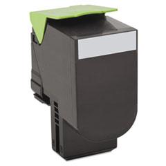 LEX80C1XK0 - Lexmark 80C1XK0 Toner, 8000 Page-Yield, Black