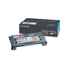 LEXC500H2MG - Lexmark C500H2MG Toner, 3000 Page-Yield, Magenta