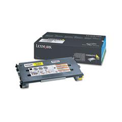 LEXC500H2YG - Lexmark C500H2YG Toner, 3000 Page-Yield, Yellow