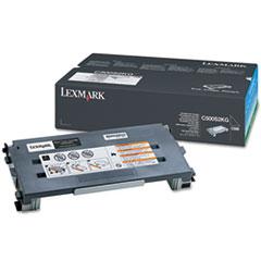 LEXC500S2KG - Lexmark C500S2KG Toner, 2500 Page-Yield, Black