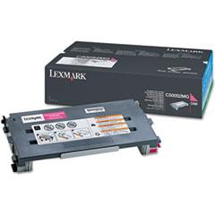 LEXC500S2MG - Lexmark C500S2MG Toner, 1500 Page-Yield, Magenta
