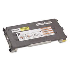 LEXC500S2YG - Lexmark C500S2YG Toner, 1500 Page-Yield, Yellow