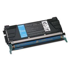 LEXC5242CH - Lexmark C5242CH High-Yield Toner, 5000 Page-Yield, Cyan