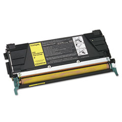LEXC5242YH - Lexmark C5242YH High-Yield Toner, 5000 Page-Yield, Yellow