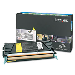 LEXC5246YH - Lexmark C5246YH High-Yield Toner, 5000 Page-Yield, Yellow
