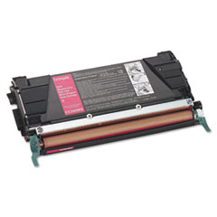 LEXC5340MX - Lexmark C5340MX Extra High-Yield Toner, 7000 Page-Yield, Magenta