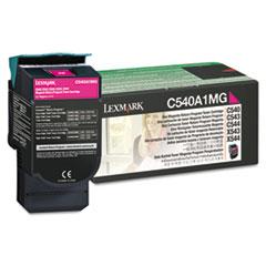 LEXC540A1MG - Lexmark C540A1MG Toner, 1000 Page-Yield, Magenta