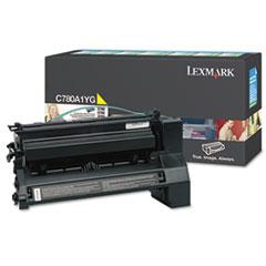 LEXC780A1YG - Lexmark C780A1YG Toner, 6000 Page-Yield, Yellow