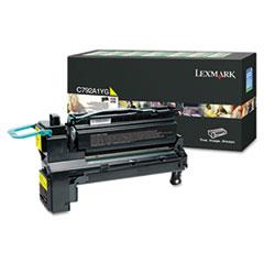 LEXC792A1YG - Lexmark C792A1YG Toner, 6,000 Page-Yield, Yellow