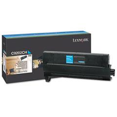 LEXC9202CH - Lexmark C9202CH Toner, 14000 Page-Yield, Cyan