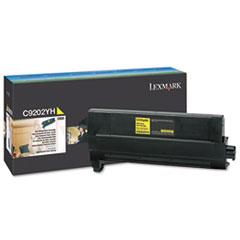 LEXC9202YH - Lexmark C9202YH Toner, 14000 Page-Yield, Yellow