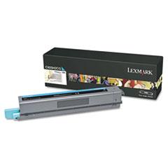 LEXC925H2CG - Lexmark C925H2CG High-Yield Toner, 7,500 Page-Yield, Cyan