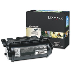 LEXX644H01A - Lexmark X644H01A Extra High-Yield Toner, 32000 Page-Yield, Black