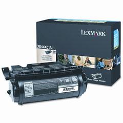 LEXX644X01A - Lexmark X644X01A Extra High-Yield Toner, 30000 Page-Yield, Black