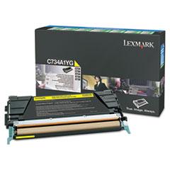 LEXX746A1YG - Lexmark X746A1YG Toner, 7000 Page-Yield, Yellow