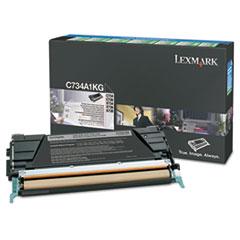 LEXX746H1KG - Lexmark X746H1KG High-Yield Toner, 12000 Page-Yield, Black