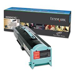LEXX850H21G - Lexmark X850H21G Toner, 30000 Page-Yield, Black