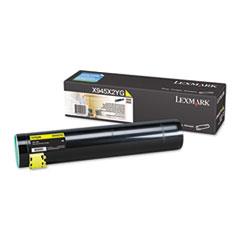 LEXX945X2YG - Lexmark X945X2YG High-Yield Toner, 22000 Page-Yield, Yellow