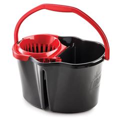 LIB1056 - Libman4 Gallon Clean & Rinse Bucket with Wringer