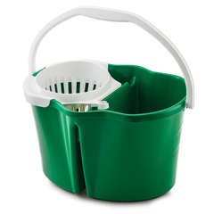 LIB2112 - Libman4 Gallon Clean & Rinse Bucket with Wringer