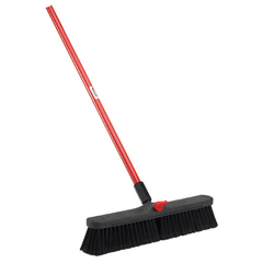 LIB800 - Libman - 18 Inch Smooth Surface Push Brooms