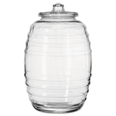 LIB9520004 - Glass Barrel with Lid