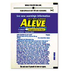 LIL51030 - Aleve® Pain Reliever Tablets Refill Packs