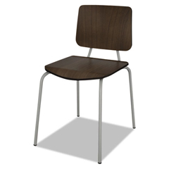 LITTR508MOC - Linea Italia® Trento Line Sienna Stacking Chair