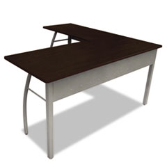 LITTR737MOC - Linea Italia® Trento Line L-Shaped Desk