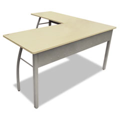 LITTR737OAT - Linea Italia® Trento Line L-Shaped Desk