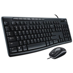 LOG920002714 - Logitech® Wired Media Combo MK200