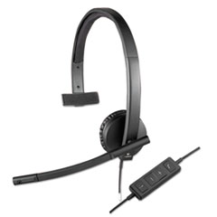 LOG981000570 - Logitech® USB H570e Over-the-Head Wired Headset