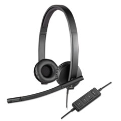 LOG981000574 - Logitech® USB H570e Over-the-Head Wired Headset