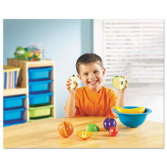 LRNLER7313 - Learning Resources® Smart Snacks® Counting Fun Fruit Bowl