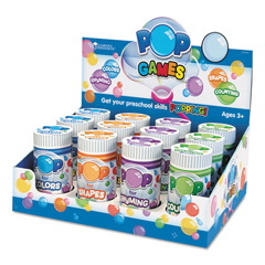 LRNLER8454 - Learning Resources® Display of Early Childhood Pop Games
