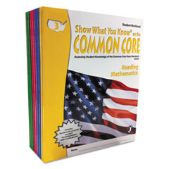 LRZNA3001 - Show What You Know® Common Core Assessment Reference Kit